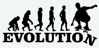 EVOLUTION SKATEBOARD